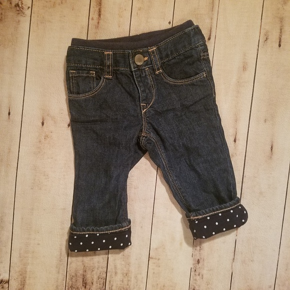 GAP Other - Baby Gap 6-12 month girl's insulated Jean's